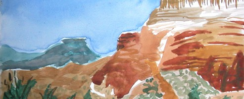 White top cliffs